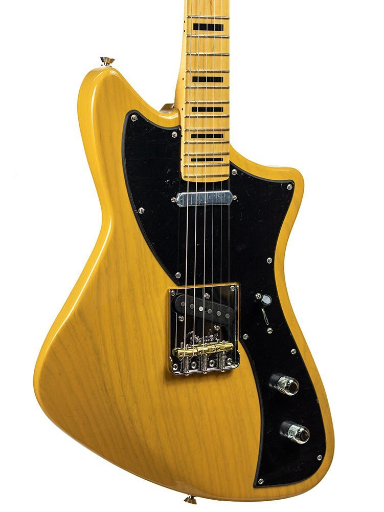 Fender Mint Parallel Universe - 2018 Limited Edition Meteora, Maple Fingerboard, Butterscotch Blonde