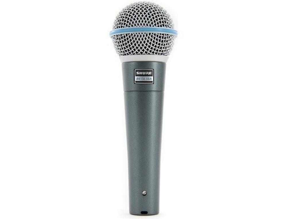 Shure Shure Beta 58A Cardioid Dynamic Vocal Microphone