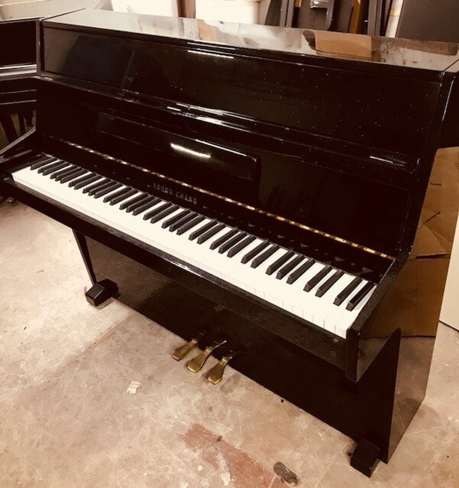 Conover Cable Conover Cable Upright Piano in Polished Ebony