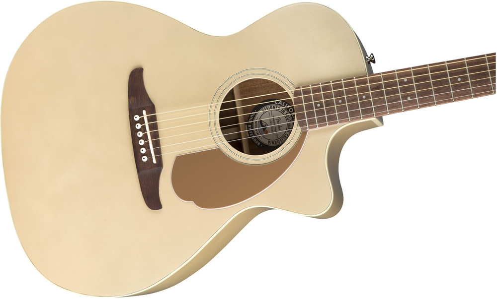 Fender Acoustic Guitars DEMO Fender Newporter Player, Champagne