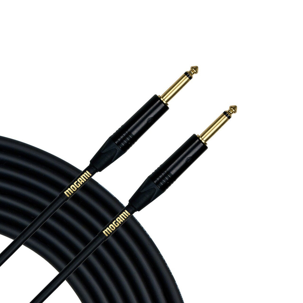 Mogami Mogami Gold Instrument 3 1/4 Male to 1/4 Male Straight End Cable