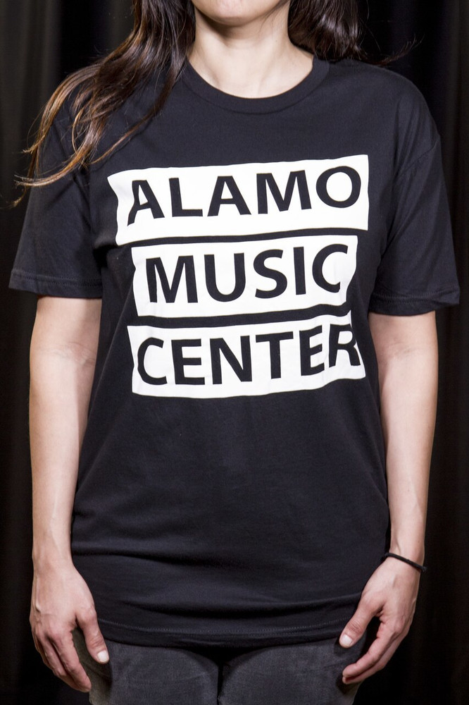 Alamo Music Center Alamo Music Center Bars Logo T-Shirt - Medium