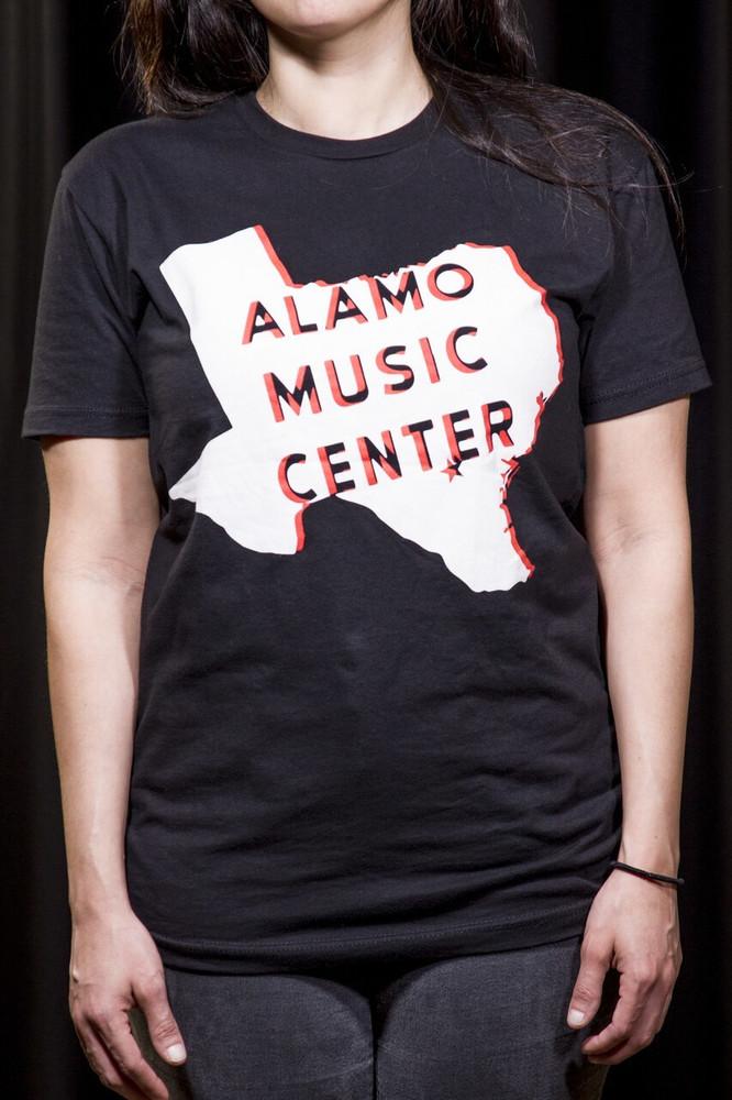 Alamo Music Center Alamo Music Center Texas Logo T-Shirt - XL