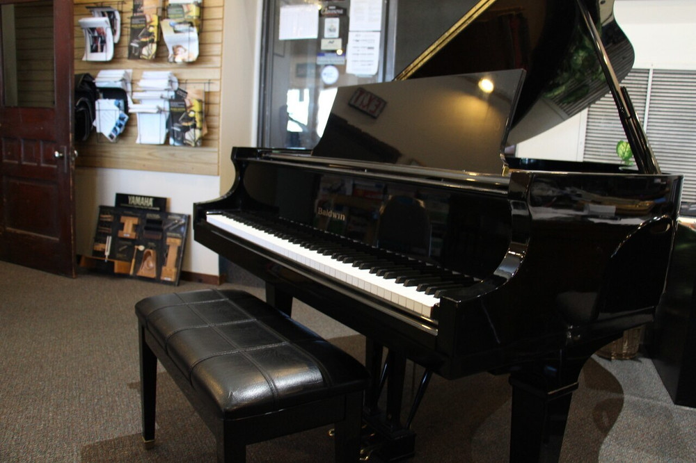 Baldwin Baldwin R 58 1993 Ebony Grand Piano