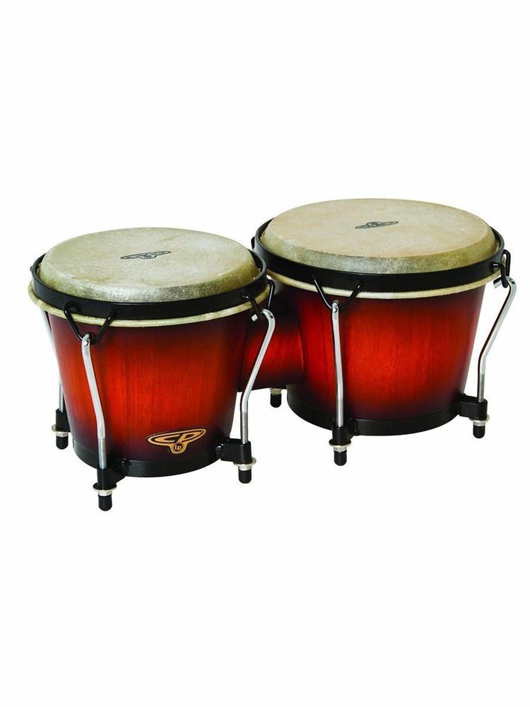 Latin Percussion Latin Percussion CP221VSB Traditional Bongos - Vintage Sunburst