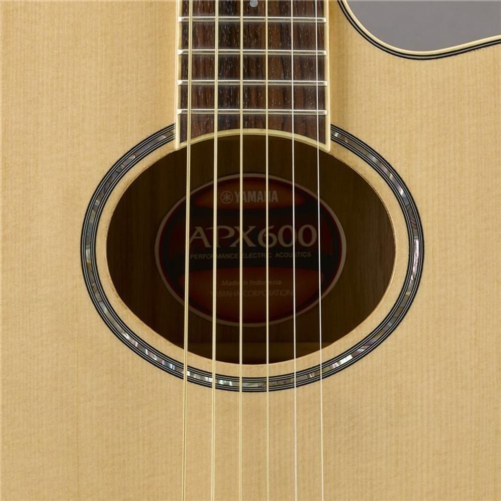Yamaha Guitars Yamaha APX600 Acoustic-Electric Guitar - Natural