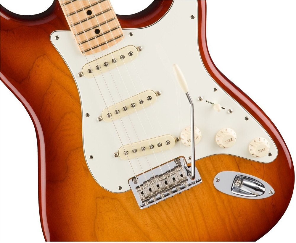 Fender Pre-Owned Fender American Professional Stratocaster Sienna Sunburst