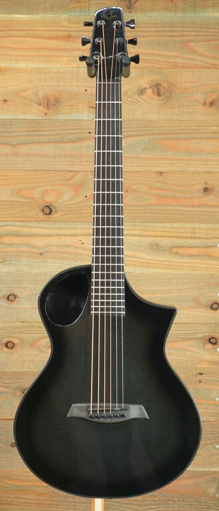 Composite Acoustics Pre-Owned Composite Acoustics Cargo High Gloss Carbon Burst w/ Electronics w/ Gigbag