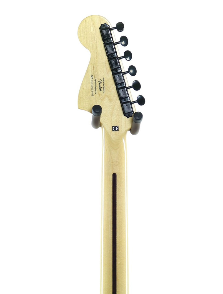 Squier DEMO Squier Vintage Modified Baritone Jazzmaster Transparent Black