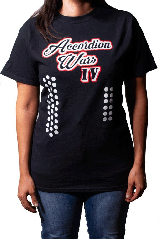 Alamo Music Center Accordion Wars IV shirt - XX Large