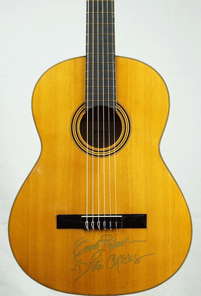 Yamaha Autographed Yamaha G-50 Classical Guitar signed by Emily Robison of the Dixie Chicks w/case