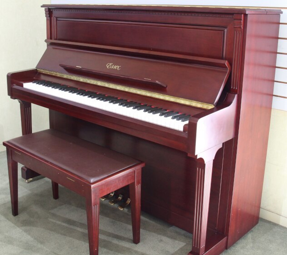 Essex UP123 Upright with matching bench Designed by Steinway and Sons
