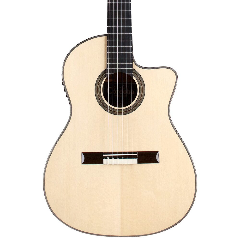 Cordoba Cordoba Fusion 14 Maple Acoustic-Electric Nylon String Classical Guitar Natural - European Spruce Top