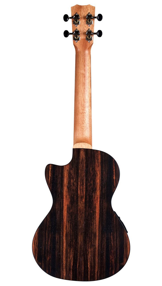 Cordoba Cordoba 21T-CE Tenor Ukulele - Spruce/Striped Ebony