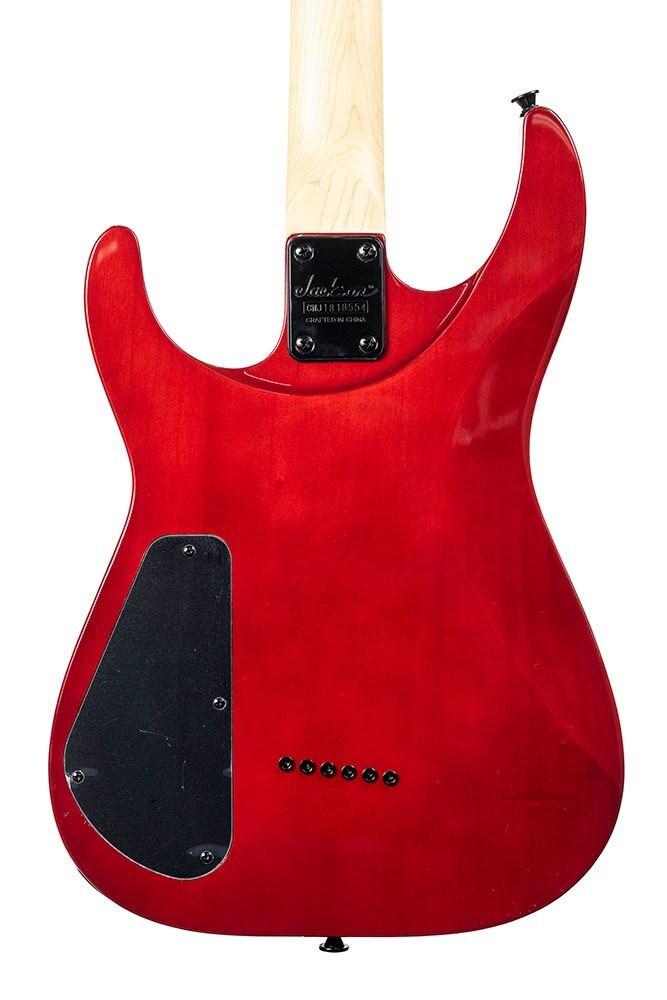 Jackson Blemished Jackson JS Series Dinky Arch Top JS32TQ DKA, Rosewood Fingerboard, Transparent Red