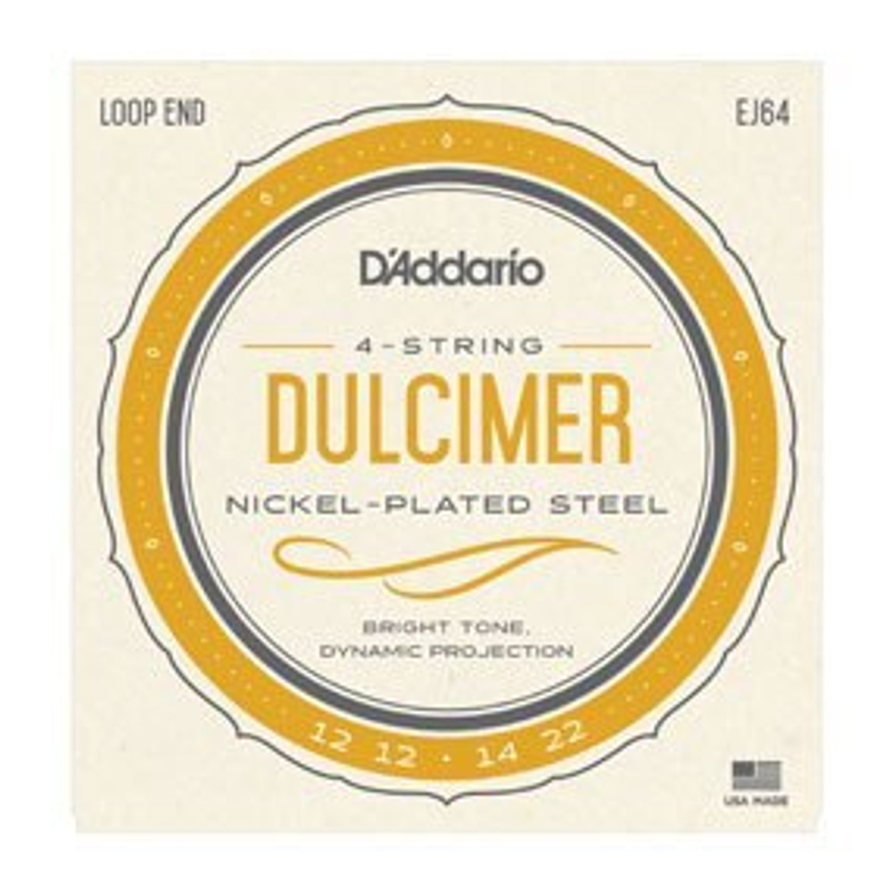 DAddario DAddario J64 4-String Dulcimer Strings
