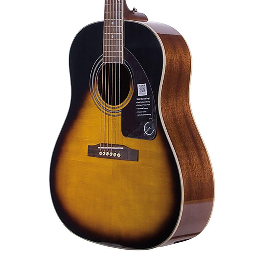 Epiphone Epiphone AJ220S Solid-Top Acoustic Guitar - Vintage Sunburst