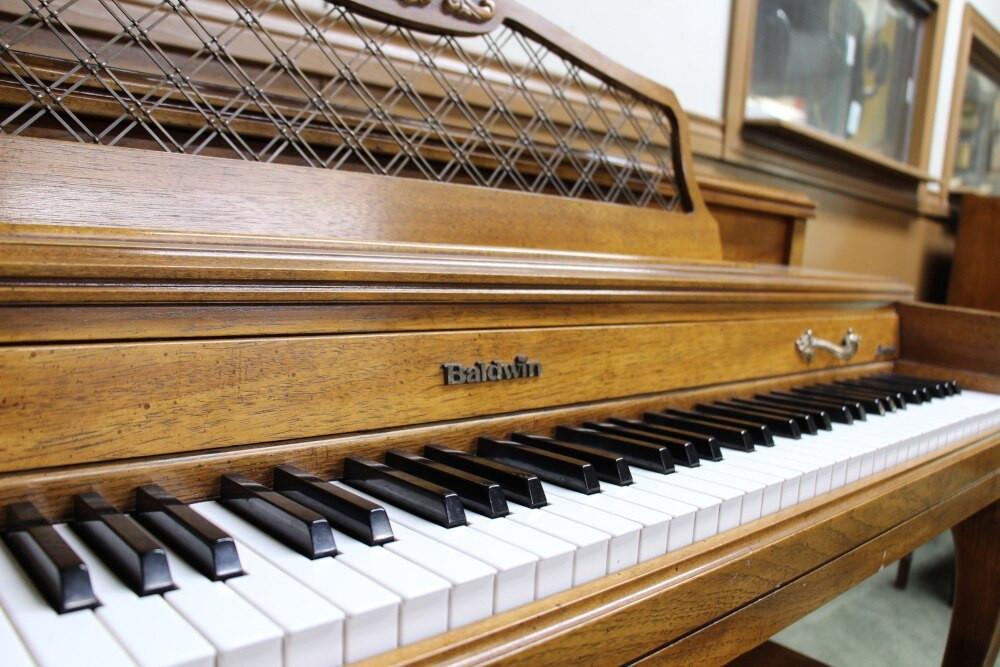 Baldwin Baldwin Spinet Piano w/ Matching Bench