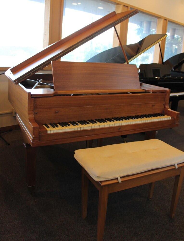 Baldwin Baldwin Hamilton Grand Piano w/ Bench 1950s