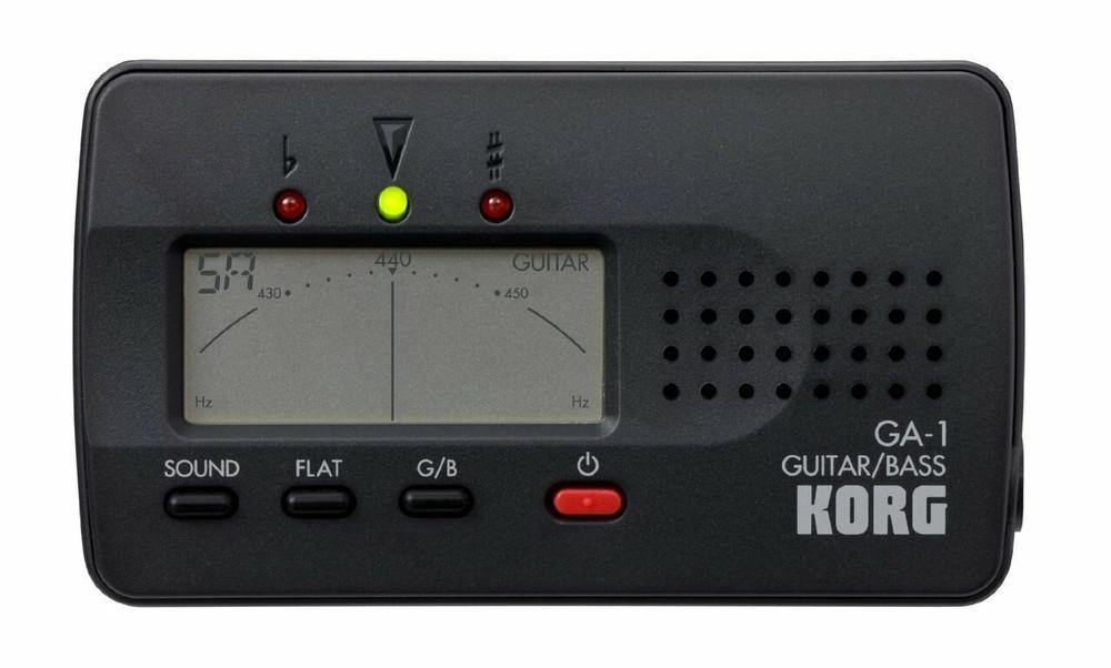 Korg Korg GA1 Guitar/Bass Tuner - Black