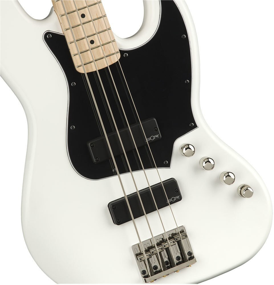 Squier Demo Squier Contemporary Active Jazz Bass HH - Flat White