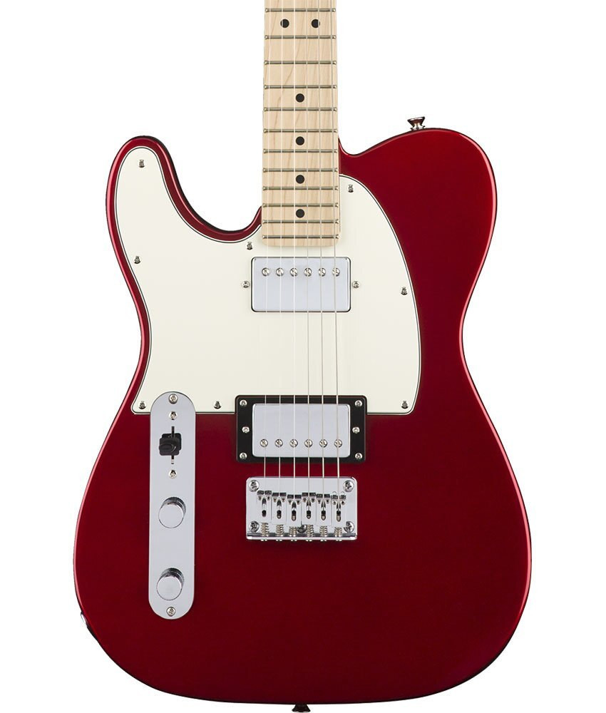 Squier Demo Squier Contemporary Telecaster HH Left Handed - Dark Metallic Red, Maple Fingerboard