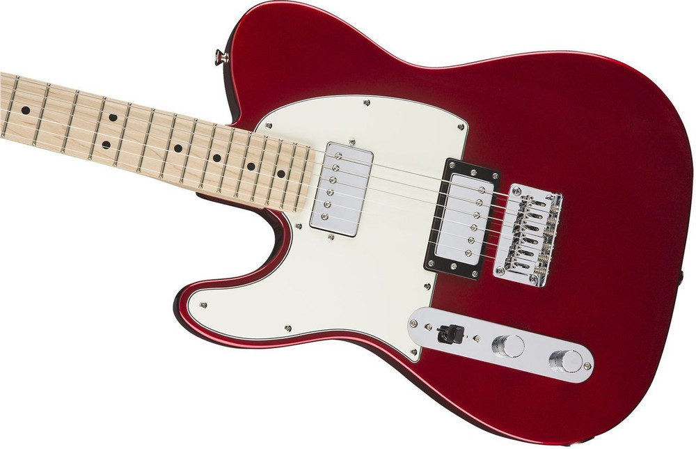 Squier Demo Squier Contemporary Telecaster HH Left Handed - Dark Metallic Red