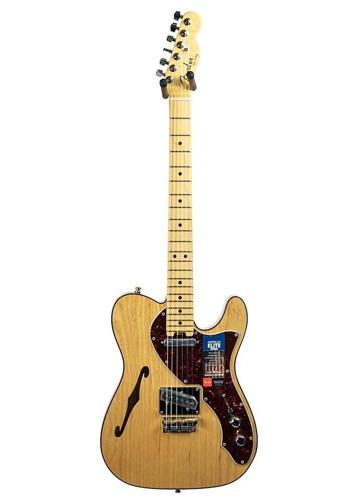 Fender B-Stock Fender American Elite Telecaster Thinline - Maple Fingerboard, Natural