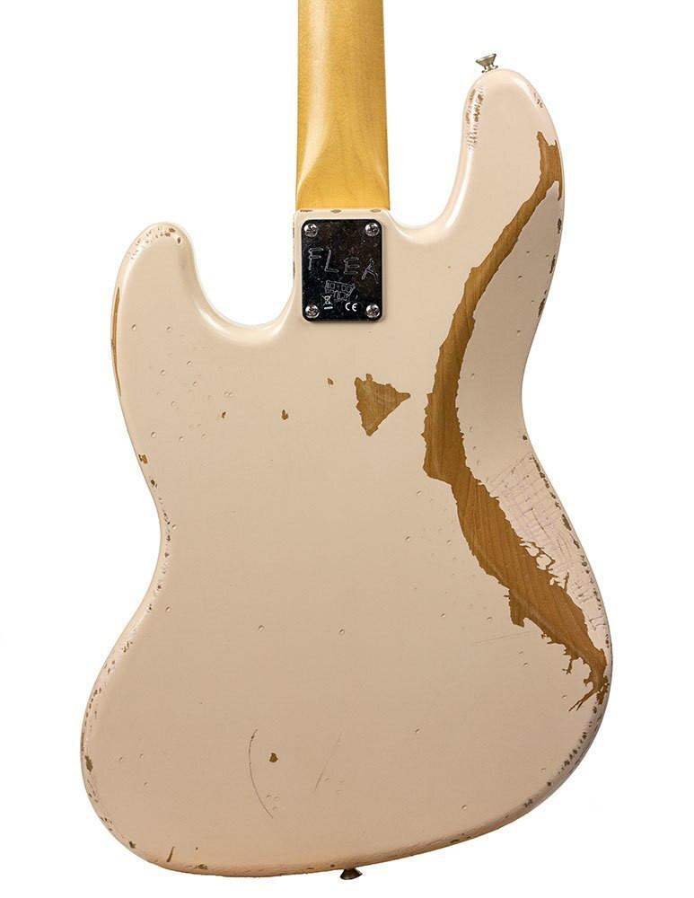 Fender B-Stock Fender Artist Series Flea Jazz Bass Roadworn Shell Pink