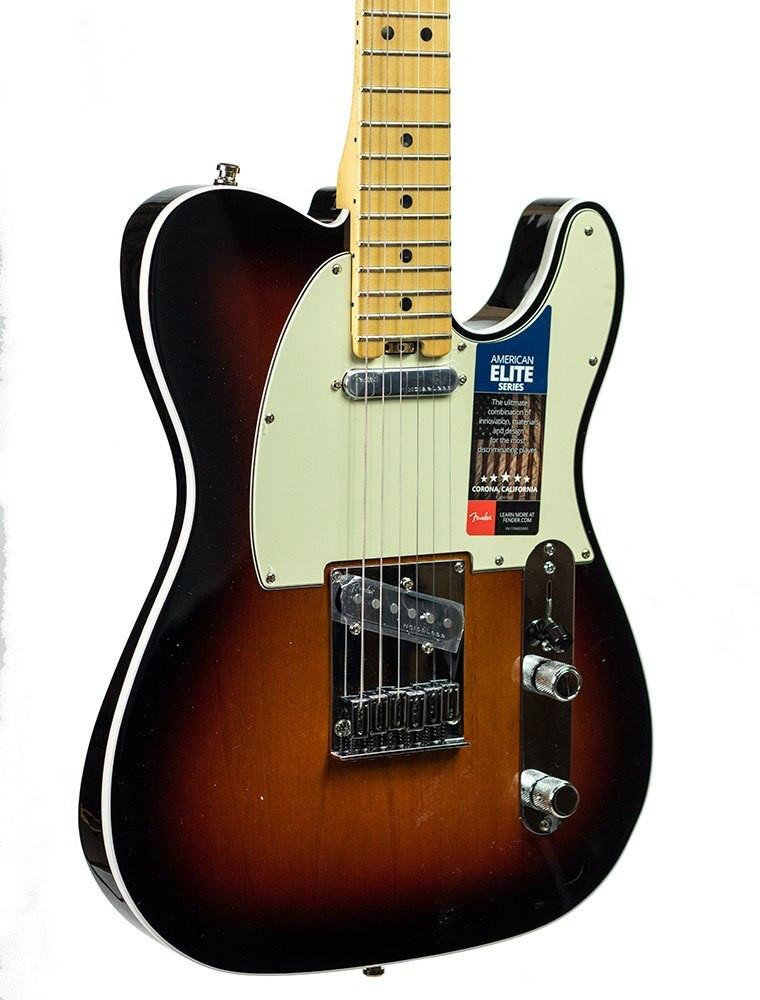 Fender B-Stock Fender American Elite Telecaster - 3-Color Sunburst Serial US15064184
