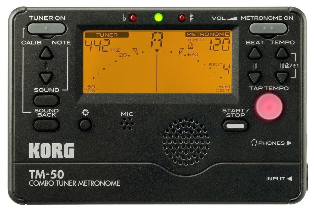 Korg Korg TM-50BK Combo Tuner/Metronome Black