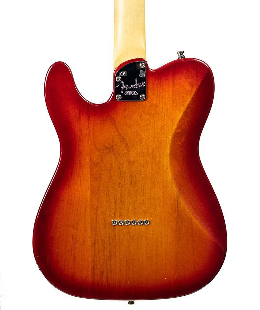 Fender B-Stock Fender American Elite Telecaster - Aged Cherry Burst, Serial US15062582