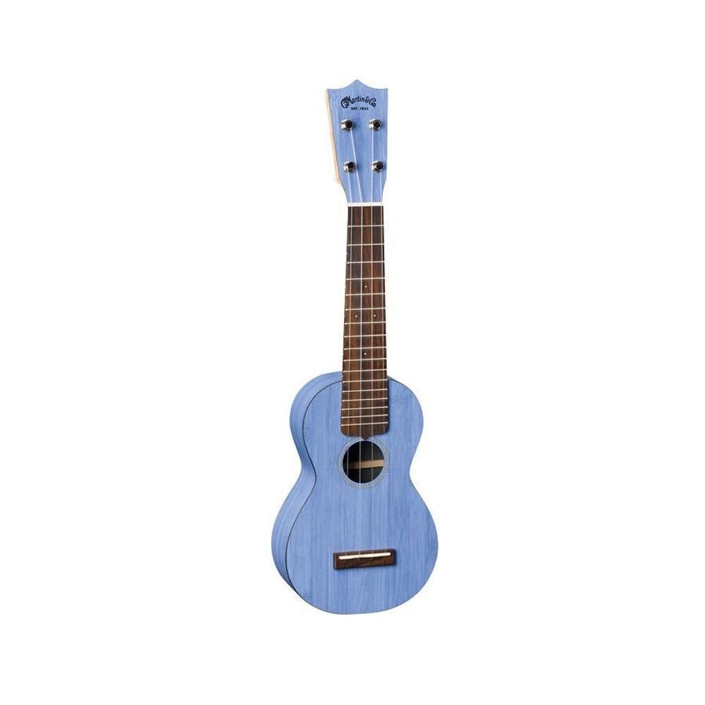 Martin Demo Martin OX Bamboo Soprano Uke Blue Mint