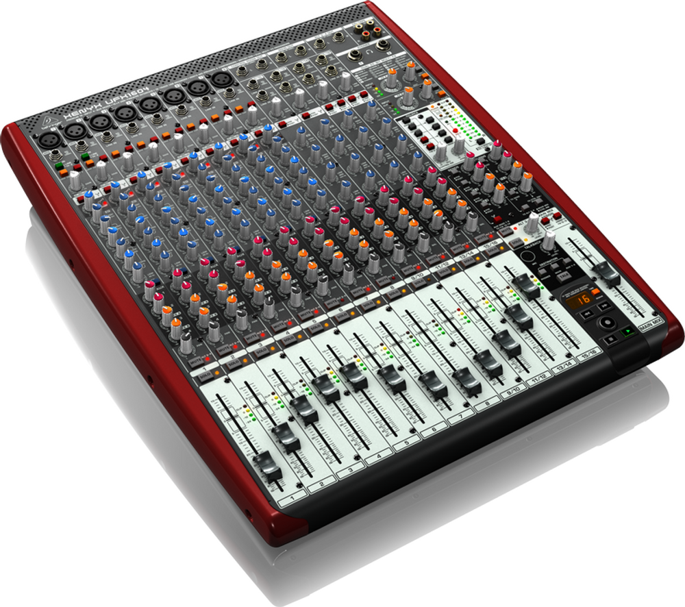Behringer DEMO Behringer UFX1604 16-Input 4-Bus Mixer with 16x4 USB/FireWire Interface MINT