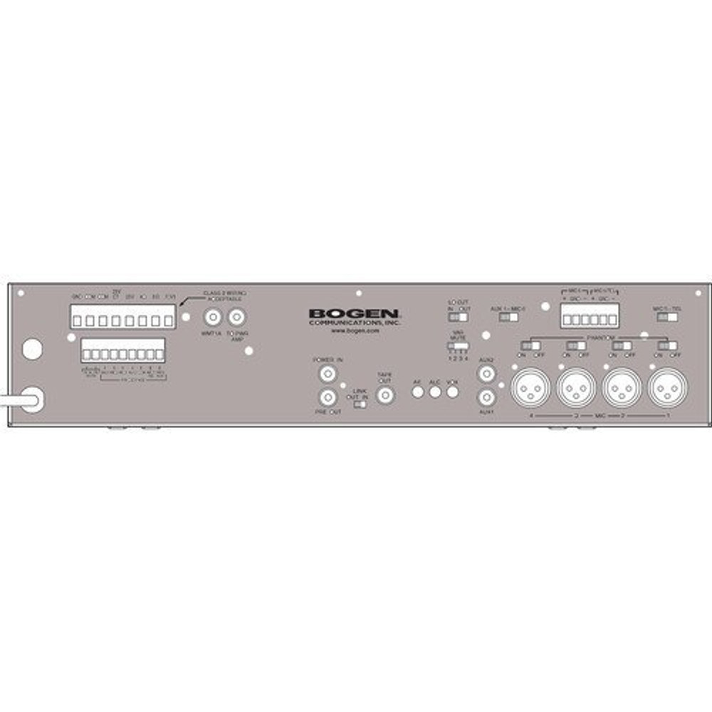 DEMO Bogen GS100 100 Watt Dual EQ Amp Gold Seal Series Amplifier