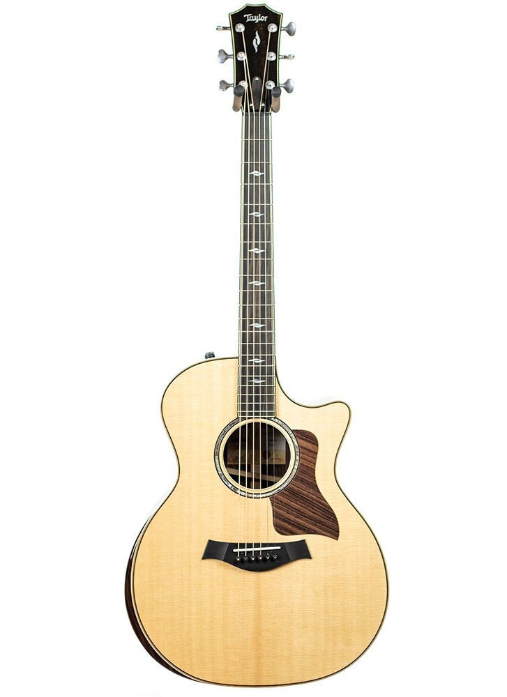 Taylor Guitars Factory Used Taylor 814ce DLX Grand Auditorium Acoustic-Electric Guitar with V-class Bracing Serial 1111028120