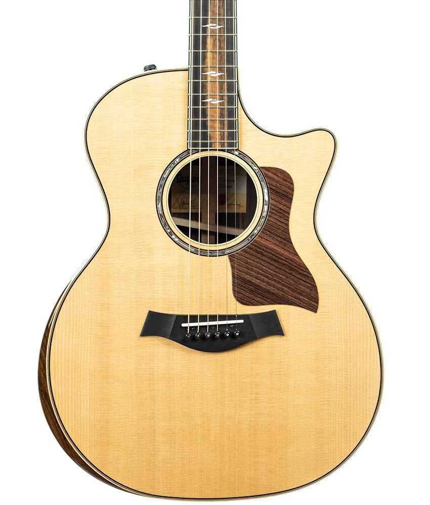 Taylor Guitars Factory Used Taylor 814ce DLX Grand Auditorium Acoustic-Electric Guitar with V-class Bracing Serial 1110028104