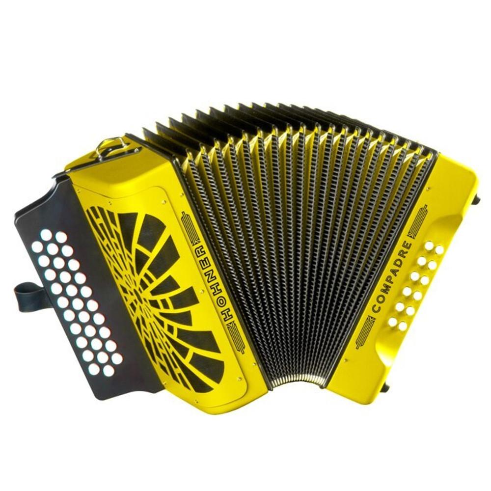 Hohner Compadre ADG Accordion Yellow