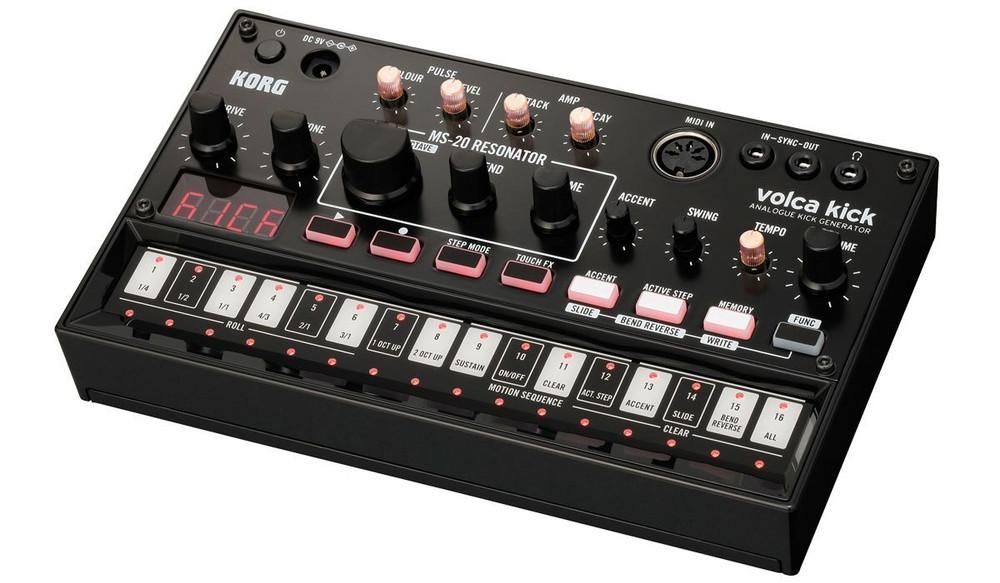 Korg Korg Volca Kick Analog Bass and Kick Synthesizer