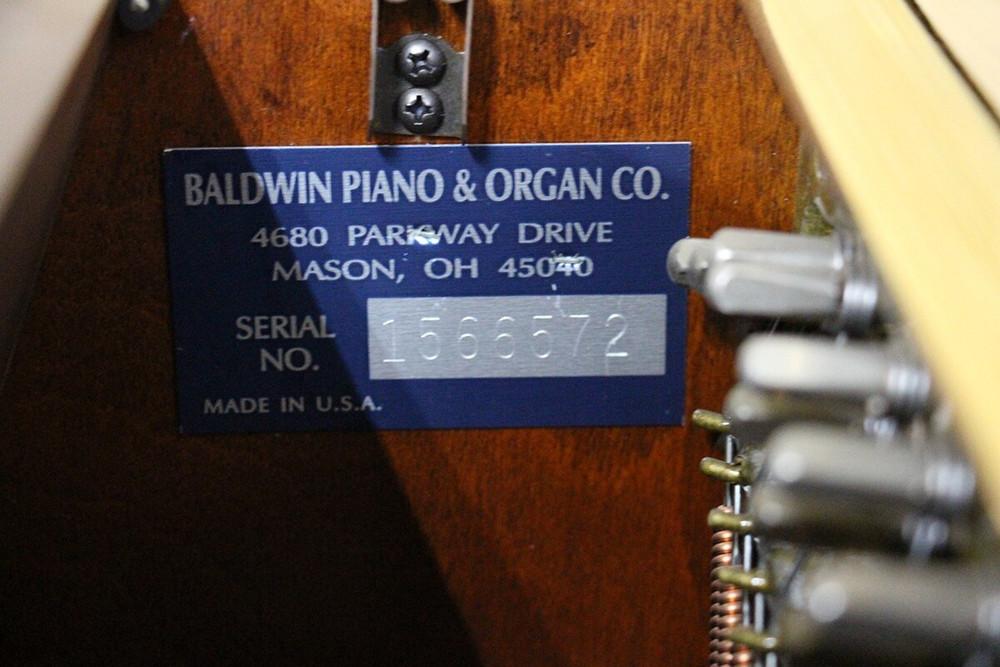 Baldwin Baldwin 660 Console Upright Piano or Mahogany