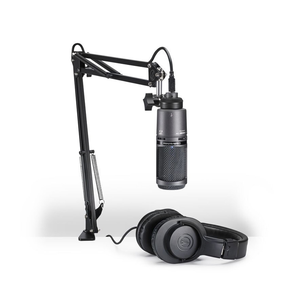Audio-Technica Audio-Technica AT2020USBPK Streaming and Broadcasting Pack
