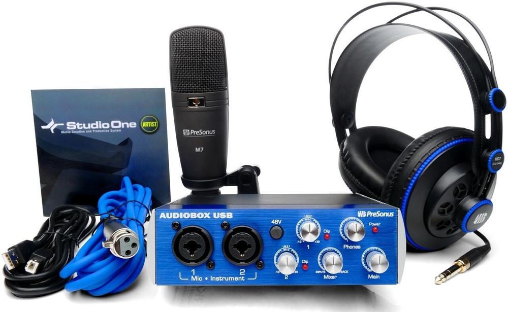 PreSonus PreSonus Audiobox Complete DAW Recording System