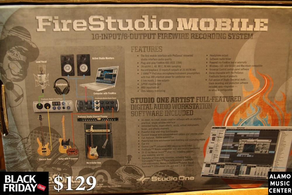 PreSonus PreSonus Ultra-compact 10x6 Firewire Audio/MIDI Studio