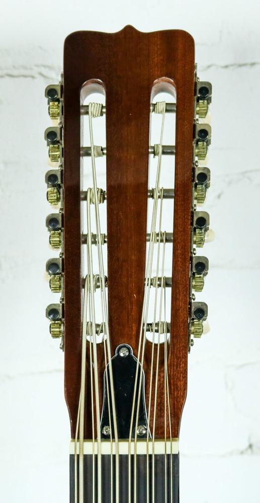 Lucida Lucida LG-BS1-E Mexican Bajo Sexto 12-String Acoustic-Electric Guitar