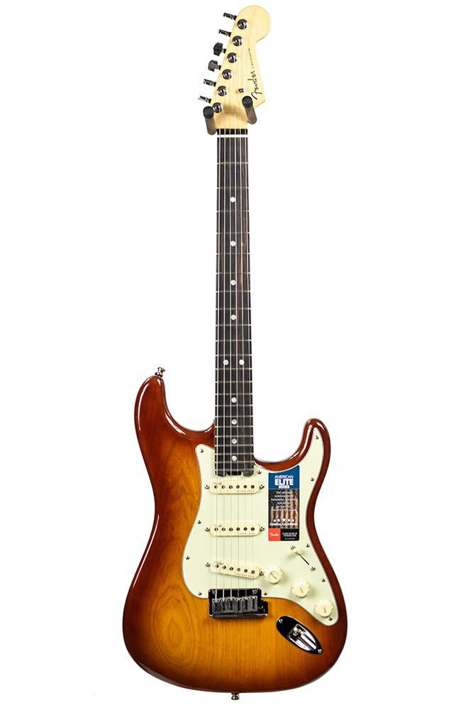 Fender B-stock Fender American Elite Stratocaster - Tobacco Sunburst Ash