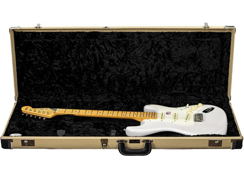 Fender B-Stock Fender Eric Johnson Stratocaster Maple Fingerboard - White Blonde