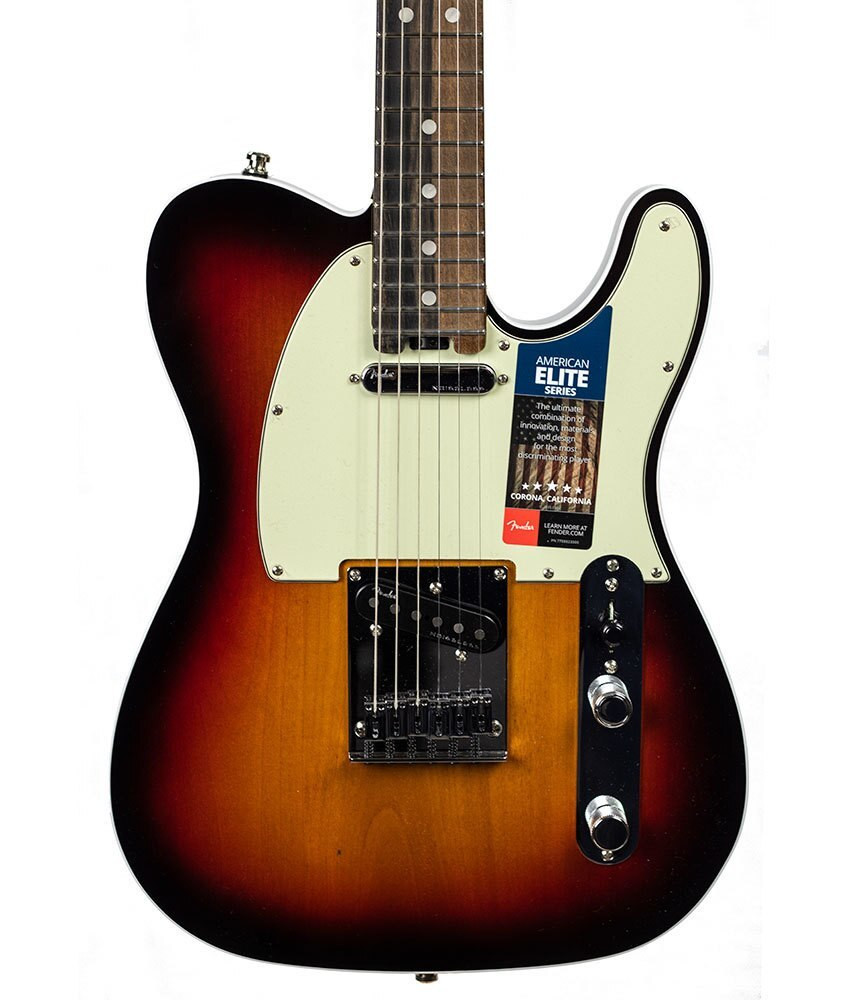 Fender B-stock Fender American Elite Telecaster, Ebony Fingerboard - 3-Color Sunburst