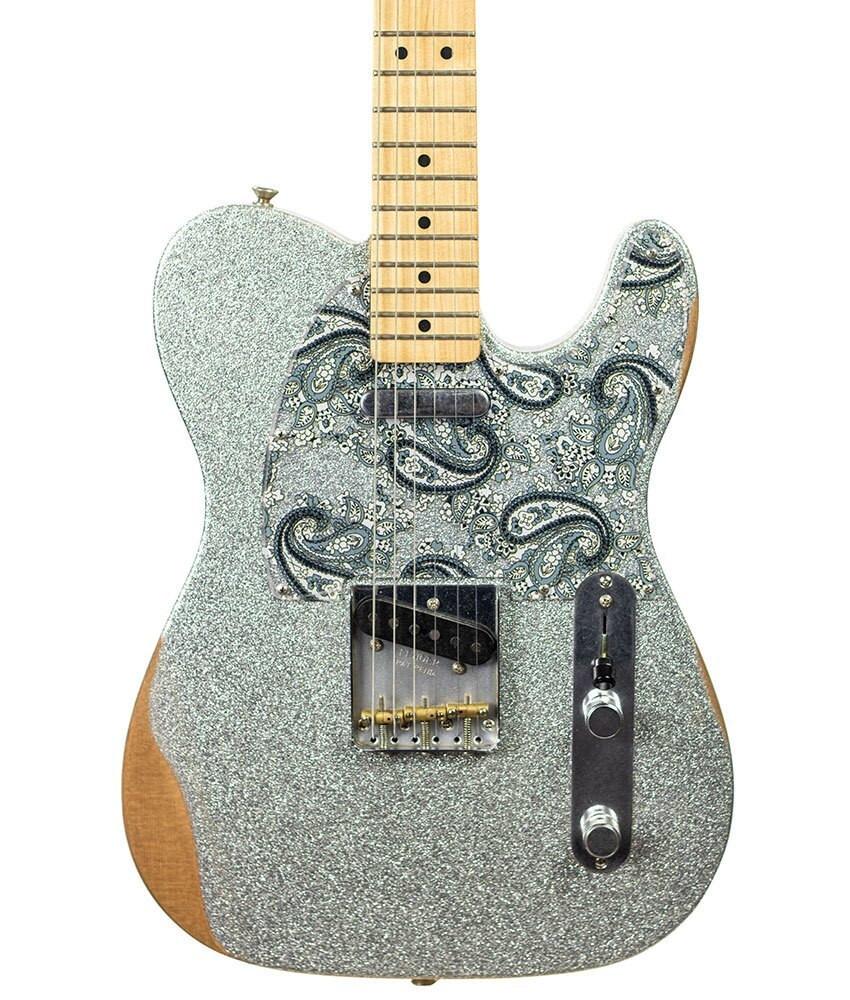 Fender B-Stock Fender Brad Paisley Road Worn Telecaster - Silver Sparkle