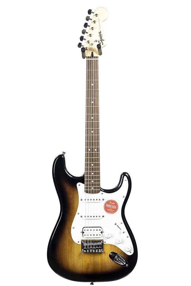 Squier B-Stock Squier Bullet Stratocaster HSS Hard Tail - Brown Sunburst