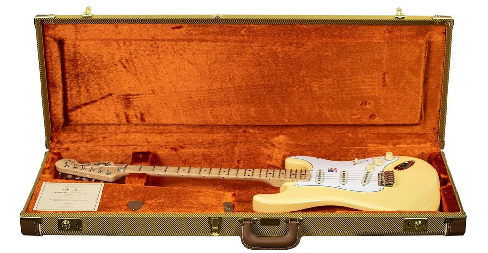 Fender B-Stock Fender Yngwie Malmsteen Stratocaster -Scalloped Maple Fingerboard